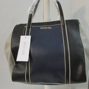 Kenneth Cole Reaction Charlie Navy/Black Tote